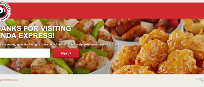 Panda Express Feedback – Free Meal @ PandaExpress.com/Feedback